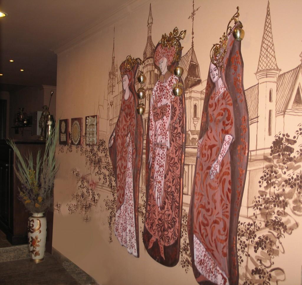 1 Hotel in Sinaia - pictura murala 3 x 1,8 m